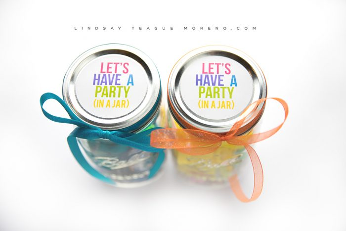 Party In A Jar Client Gift - Lindsay Teague Moreno